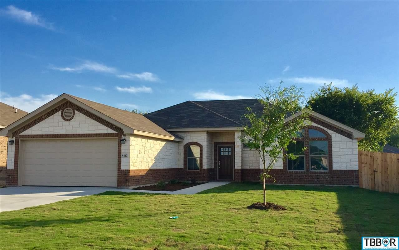 8417 Salt Mill Hollow Drive, Temple TX 76502