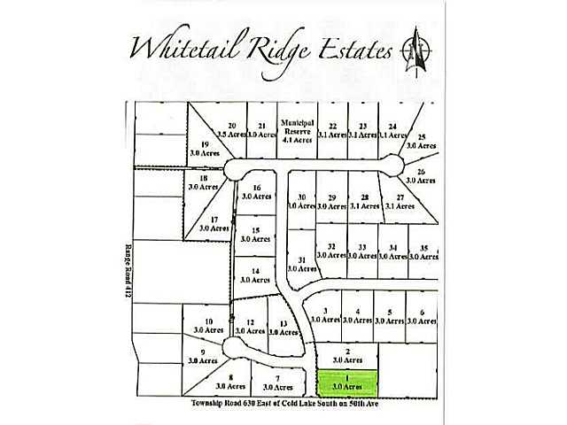 Lot 1 Whitetail Ridge Estates, Bonnyville AB T9M1P1