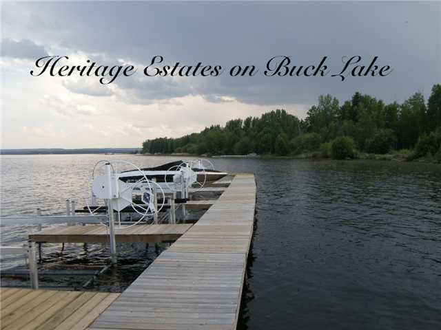 Lot 11, Heritage Estates, Buck Lake, Alberta Es, Wetaskiwin County AB T0C0T0