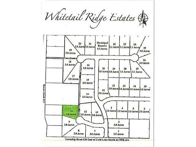 Lot 10 Whitetail Ridge Estates, Bonnyville AB T9M1P1