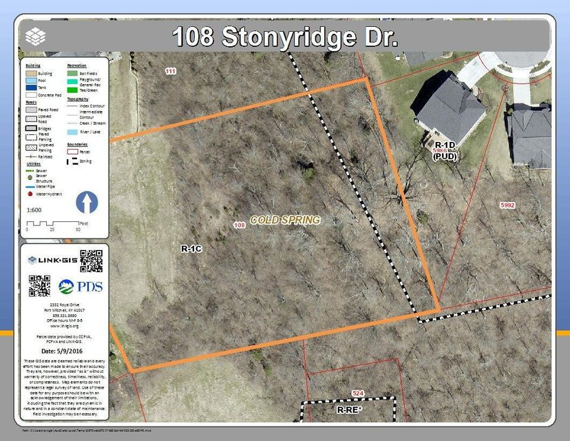 108 Stonyridge Drive # Lot7b, Cold Spring KY 41076
